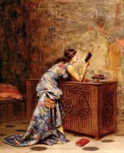 Captivated by adolphe-alexandra-lesrel