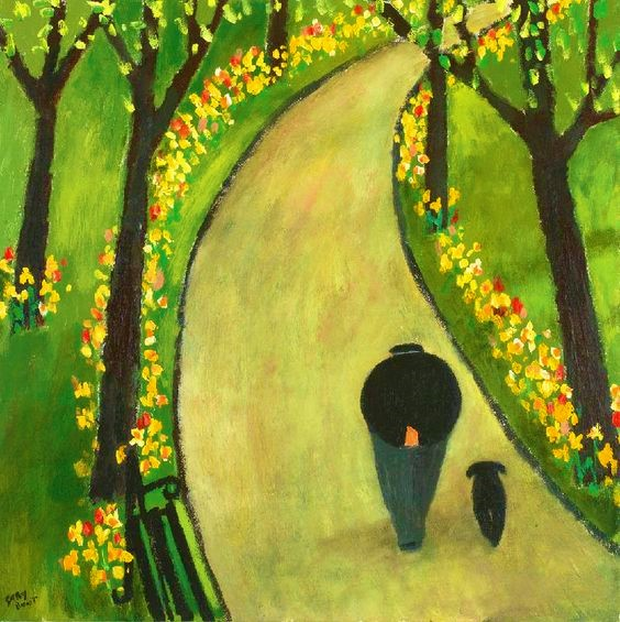 A Man And His Dog by Gary Bunt.jpg
