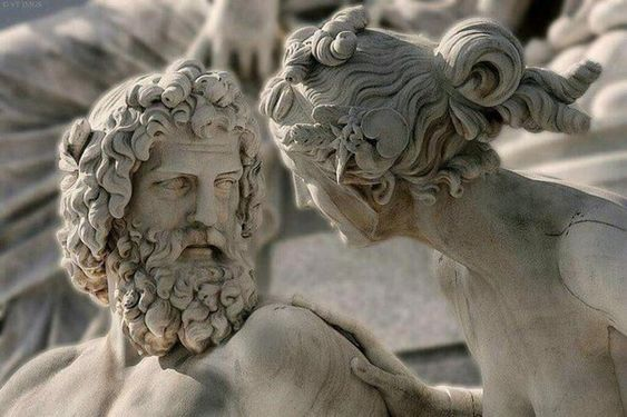Zeus and Hera - Athena Fountain by Carl Kundmann, Josef Tautenhayn and Hugo Haerdtl,